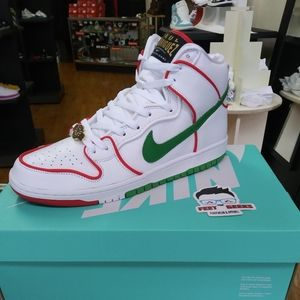 NIKE ZOOM SB DUNK HIGH P ROD MEXICAN BOXER SIZE 12